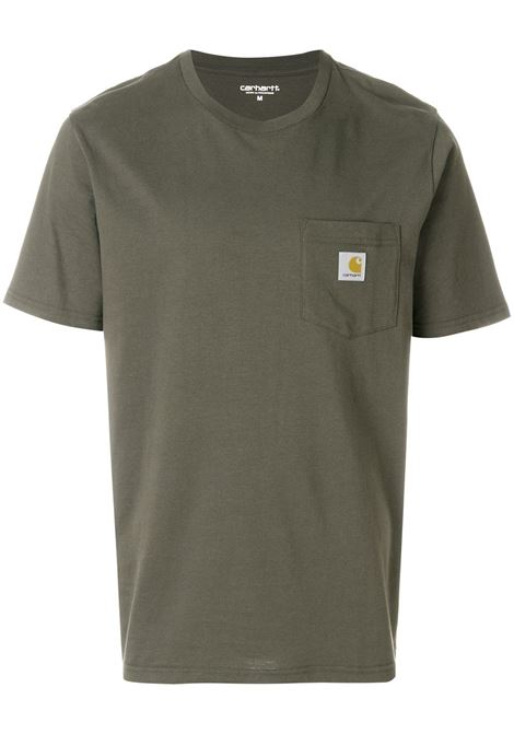 pocket t-shirt man cypress in cotton CARHARTT WIP | T-shirts | I02209163.XX