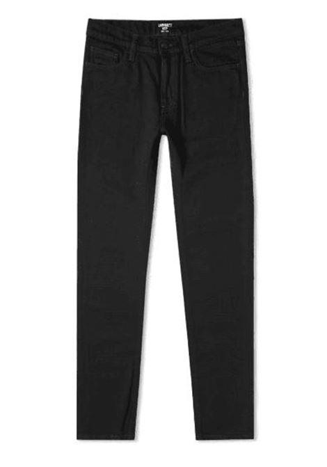 rebel jeans man black in cotton CARHARTT WIP | Jeans | I02494789.02