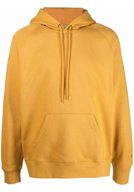 hooded sweatshirt man yellow in cotton CARHARTT WIP | Sweatshirts | I0263840JN.XX