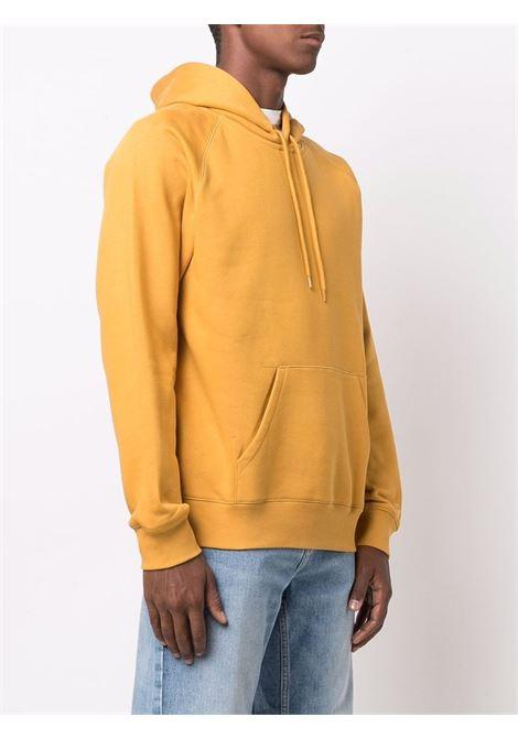 felpa con cappuccio uomo gialla in cotone CARHARTT WIP | Felpe | I0263840JN.XX