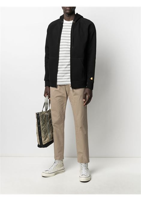 hoodie man black in cotton CARHARTT WIP   Jackets   I02638500F.XX