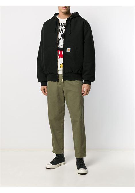 giacca og active uomo nera in cotone CARHARTT WIP | Giacche | I02736089.3K