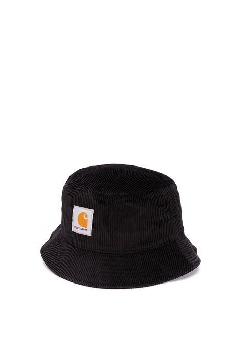 bucket hat man black in cotton CARHARTT WIP | Hats | I02816289.XX