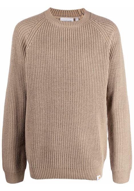 maglione a girocollo uomo beige CARHARTT WIP | Maglieria | I0282630EK.XX