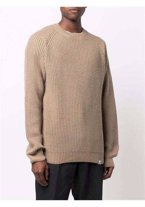 crew neck sweater man beige CARHARTT WIP | Sweaters | I0282630EK.XX