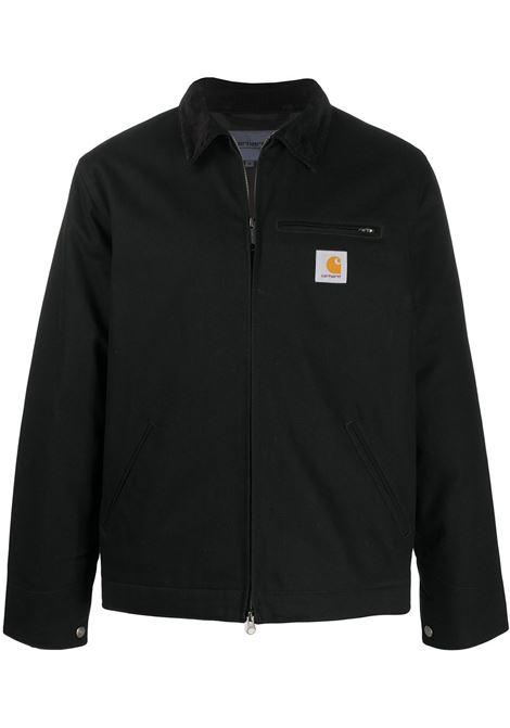 detroit jacket man black in cotton CARHARTT WIP | Jackets | I02842400E.01