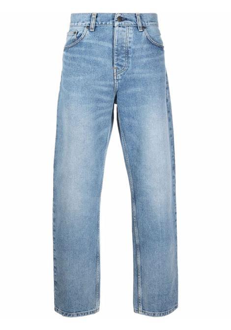 newel pants man denim CARHARTT WIP | Trousers | I02920801.WI