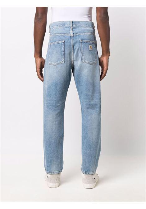 newel pants man denim CARHARTT WIP   Trousers   I02920801.WI
