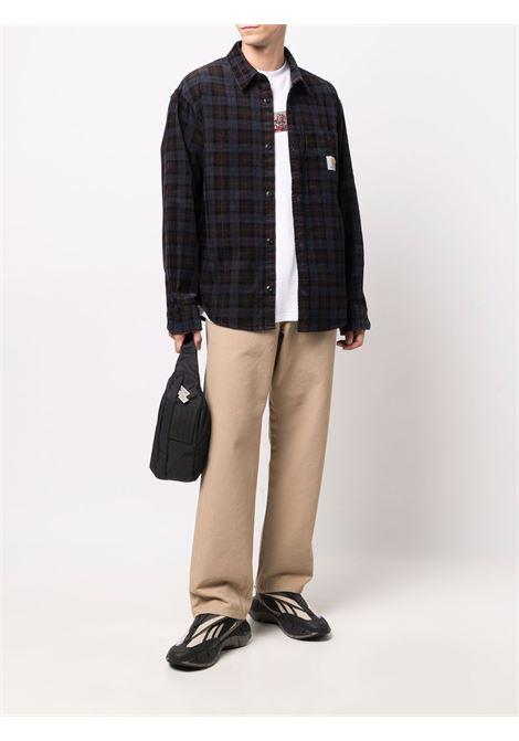 camicia fllint uomo multicolore in cotone CARHARTT WIP   Camicie   I0294420HZ.02