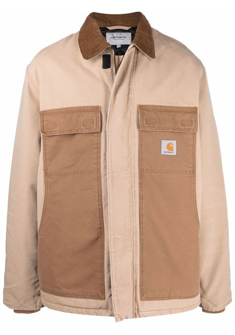 giacca og arctic uomo beige in cotone CARHARTT WIP | Cappotti | I0297690ID.3K