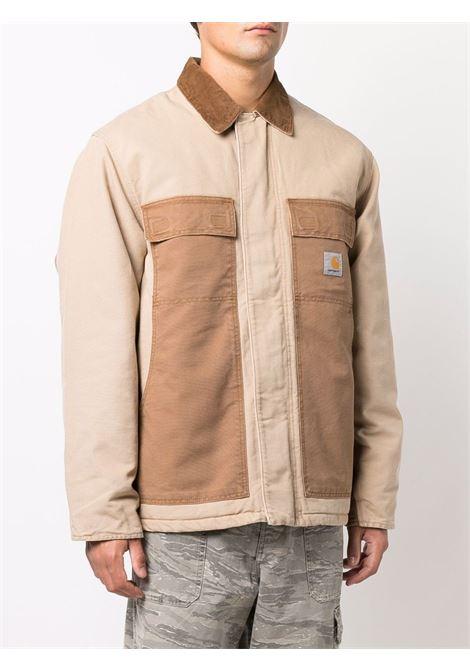 og arctic jacket man beige in cotton CARHARTT WIP | Coats | I0297690ID.3K