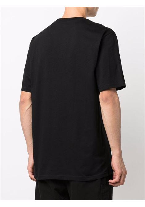 logo t-shirt man black in cotton CARHARTT WIP | T-shirts | I0299150D2.XX