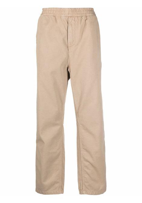 flint trousers man beige in cotton CARHARTT WIP | Trousers | I029919G1.GD