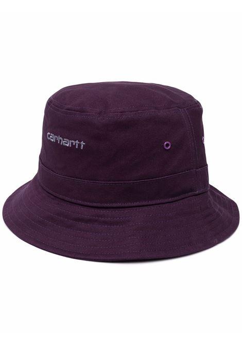 bucket hat man purple in cotton CARHARTT WIP | Hats | I0299370IR.XX