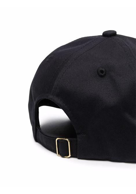 cappello racing uomo nero in cotone CASABLANCA | Cappelli | AF21-HAT-008BLACK CASABLANCA RACING