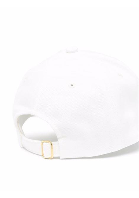 cappello racing twill uomo bianco in cotone CASABLANCA | Cappelli | AF21-HAT-008OFF WHITE CASABLANCA RACING