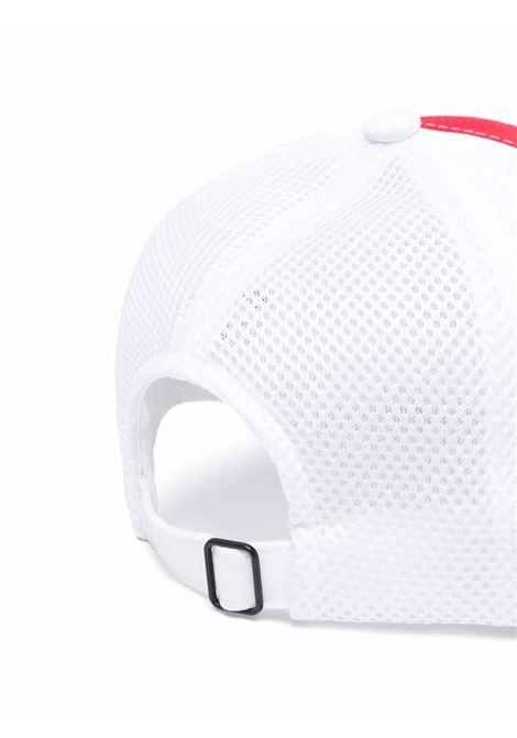 cappello 100s japan twill uomo bianco in cotone CASABLANCA | Cappelli | AF21-HAT-012CASABLANCA 100'S JAPAN