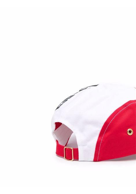 casablanca 100s cap man white and red CASABLANCA | Hats | AF21-HAT-013CASABLANCA 100'S