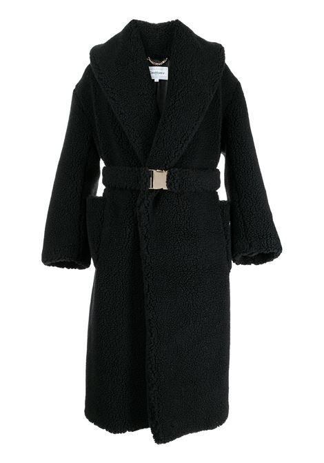 cappotto monopetto uomo nero CASABLANCA | Cappotti | MF21-OT-005BLACK