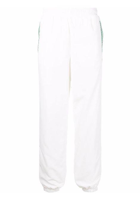 casa sport pants man white in polyester CASABLANCA | Trousers | MF21-TR-028CASA SPORT