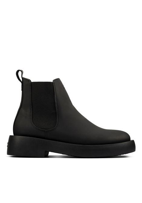Mileno Chelasea Black Man Leather CLARKS | Boots | 26160854BLACK