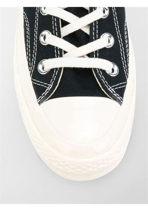 sneakers play unisex nere in tela COMME DES GARÇONS PLAY X CONVERSE   Sneakers   P1K1121