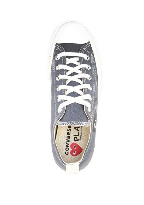 sneakers play basse unisex grigie COMME DES GARÇONS PLAY X CONVERSE | Sneakers | P1K1211