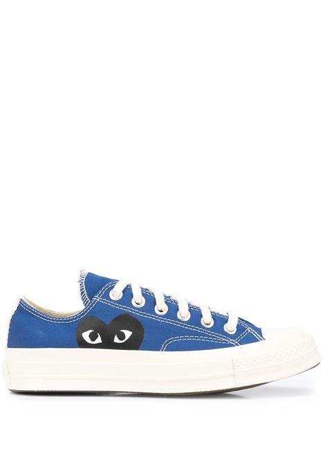 sneakers play basse unisex blu COMME DES GARÇONS PLAY X CONVERSE | Sneakers | P1K1212