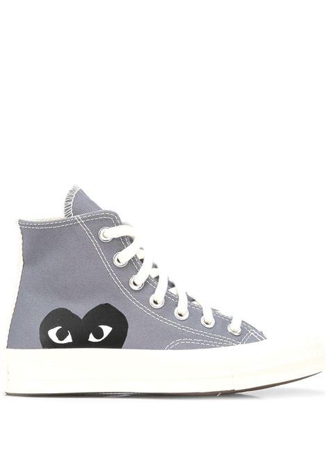 sneakers play unisex grigie COMME DES GARÇONS PLAY X CONVERSE | Sneakers | P1K1221