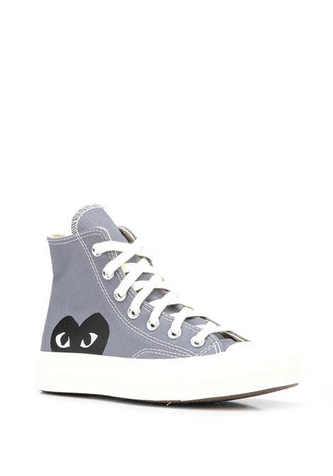 big heart high top sneakers unisex gray COMME DES GARÇONS PLAY X CONVERSE | Sneakers | P1K1221