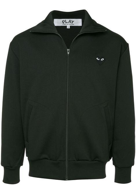 play sweatshirt man black in cotton COMME DES GARÇONS PLAY   Sweatshirts   P1T2561
