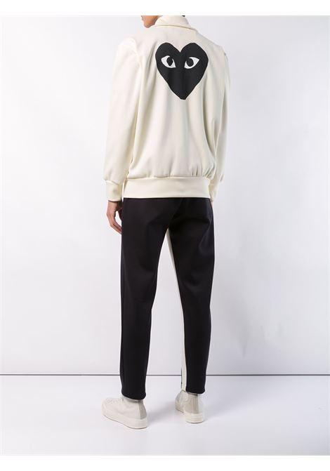 play sweatshirt man cream in cotton COMME DES GARÇONS PLAY | Sweatshirts | P1T2563
