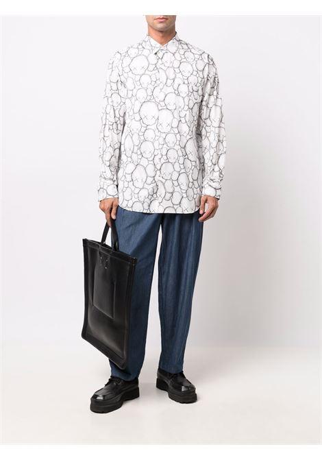 woven shirt man white in cotton COMME DES GARÇONS SHIRT   Shirts   FH-B025-W211