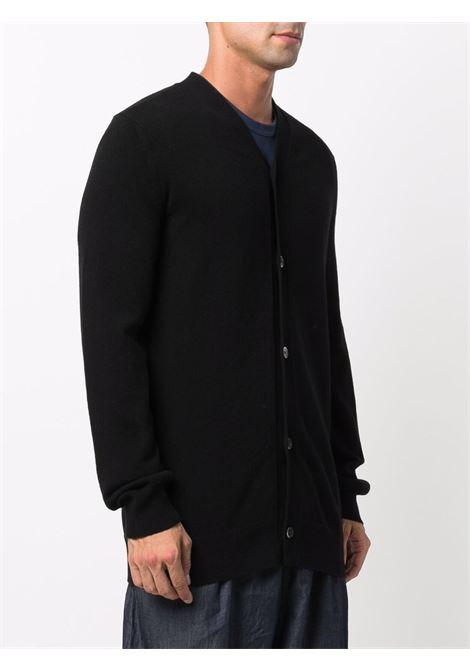 wool cardigan man black COMME DES GARÇONS SHIRT | Sweaters | FH-N001-W211