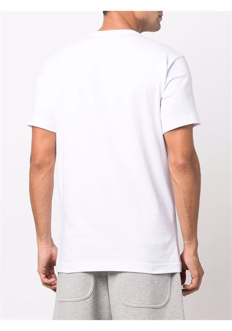 printed t-shirt man white in cotton COMME DES GARÇONS SHIRT   T-shirts   FH-T003-W211