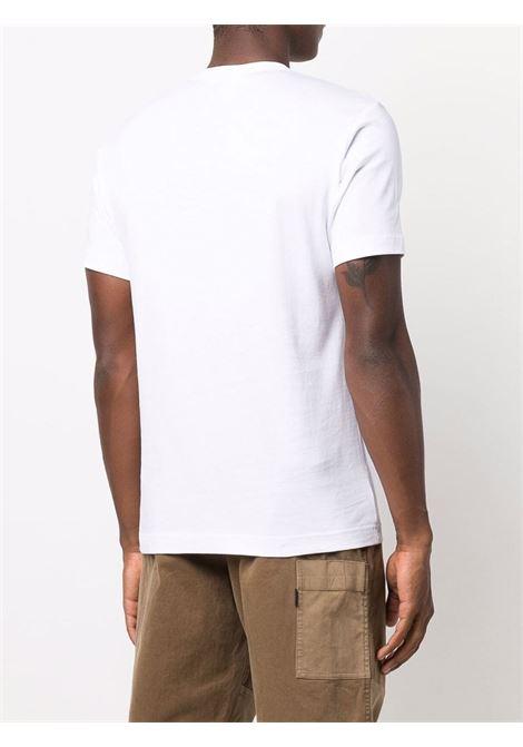 t-shirt con stampa uomo bianca in cotone COMME DES GARÇONS SHIRT | T-shirt | FH-T004-W211