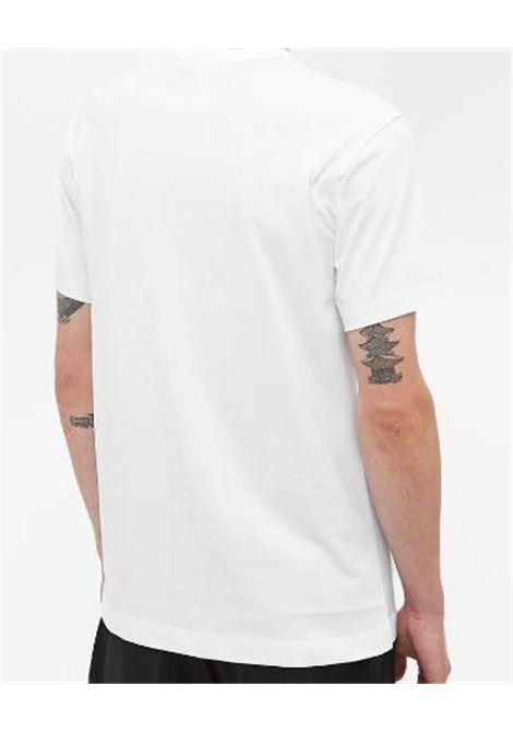 printed t-shirt man white in cotton COMME DES GARÇONS SHIRT | T-shirts | FH-T007-W211