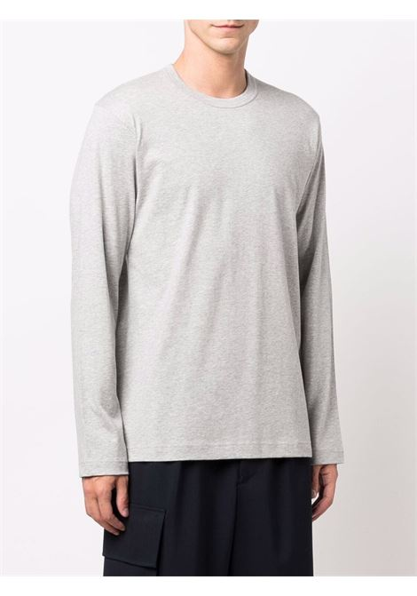 long sleeves t-shirt man gray in cotton COMME DES GARÇONS SHIRT | T-shirts | FH-T012-W212
