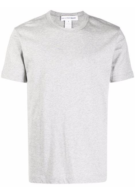 t-shirt in cotone uomo grigia COMME DES GARÇONS SHIRT | T-shirt | FH-T013-W212