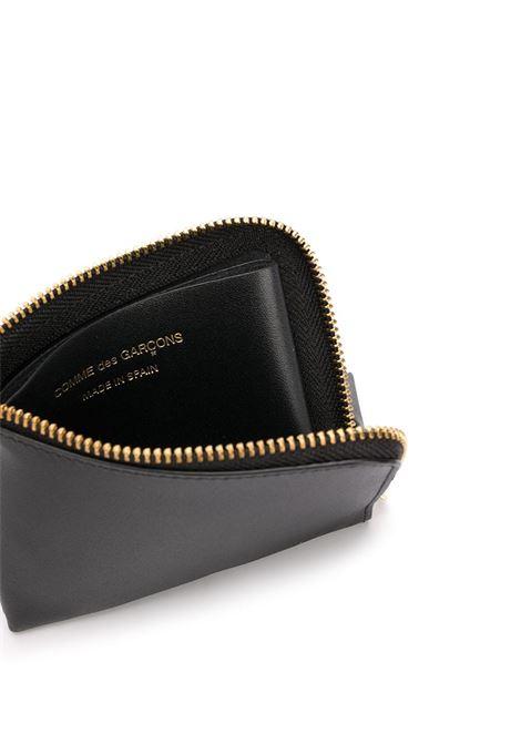 classic line wallet unisex black in leather COMME DES GARÇONS WALLET   Wallets   SA3100800