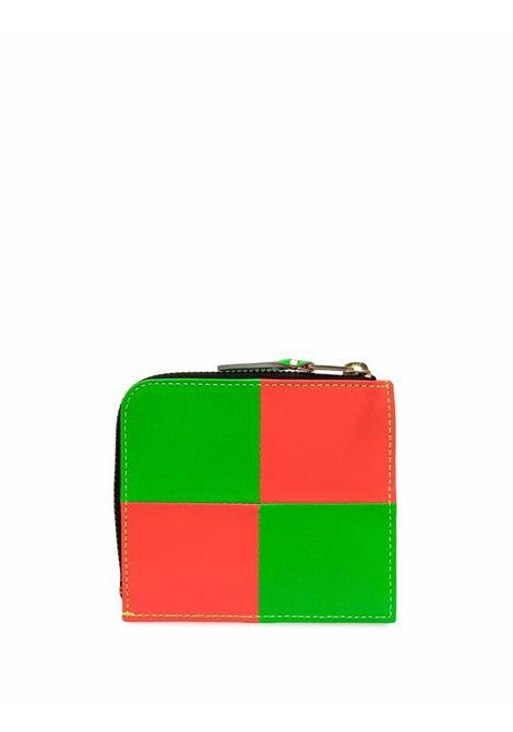bicolor wallet unisex in leather COMME DES GARÇONS WALLET | Wallets | SA3100FS1