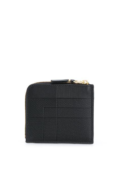 leather wallet unisex black COMME DES GARÇONS WALLET | Wallets | SA3100LS1