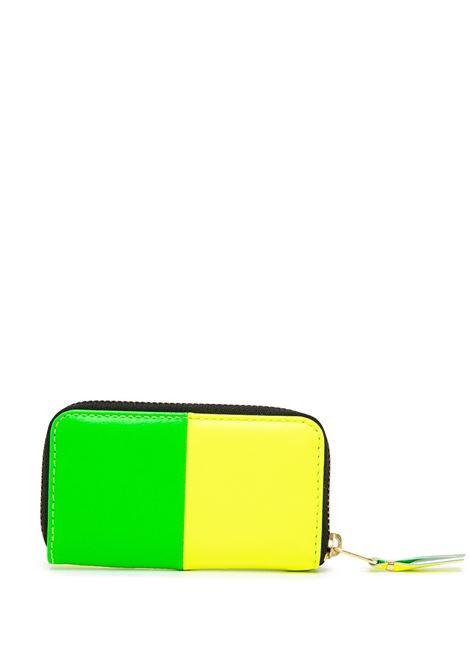 bicolor wallet unisex in leather COMME DES GARÇONS WALLET | Wallets | SA410XFS1