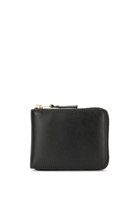 portafoglio classic line uomo nero in pelle COMME DES GARÇONS WALLET | Portafogli | SA7100800