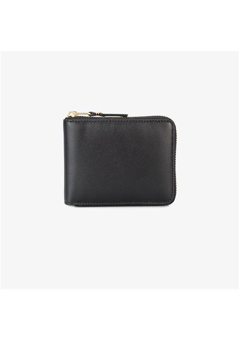 classic line wallet man black in leather COMME DES GARÇONS WALLET | Wallets | SA7100800