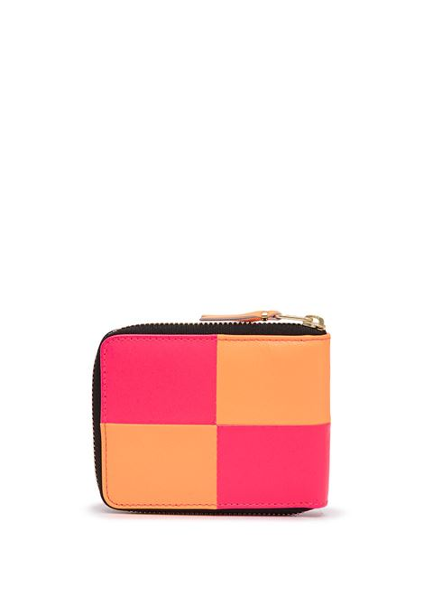 leather wallet unisex bicolor COMME DES GARÇONS WALLET | Wallets | SA7110FS1