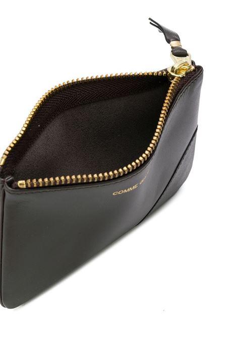 logo wallet unisex brow in leather COMME DES GARÇONS WALLET | Wallets | SA8100801