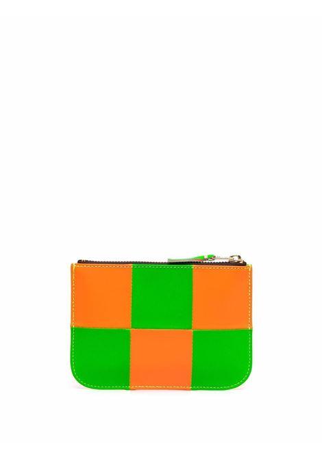portafoglio bicolore unisex in pelle COMME DES GARÇONS WALLET | Portafogli | SA8100FS1