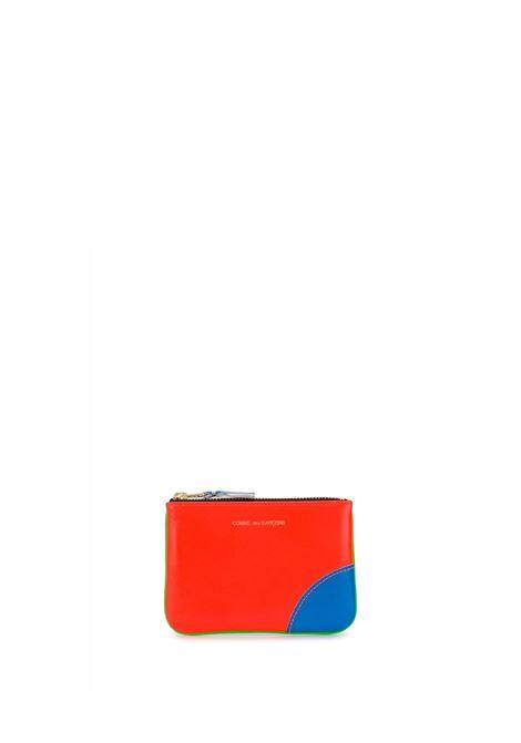 portafoglio con zip unisex in pelle COMME DES GARÇONS WALLET | Portafogli | SA8100SFG/OR