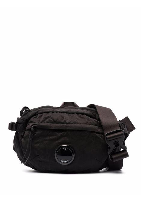 logo belt bag man black C.P. COMPANY | Belt Bag | 11CMAC112A005269G999